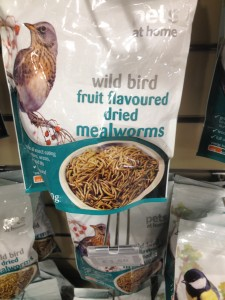 Why fruit flavoured meal worms?